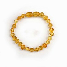 Wholesale 5 Colors Free Shipping HOT 14cm Natural Amber Stones Certificate Baltic Teething Genuine Amber Bracelet for Baby(China (Mainland))