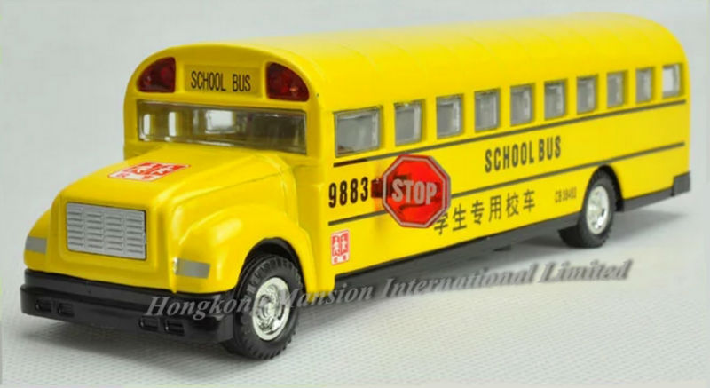 132 Car Model For Bluebird School Bus style 2 (1)