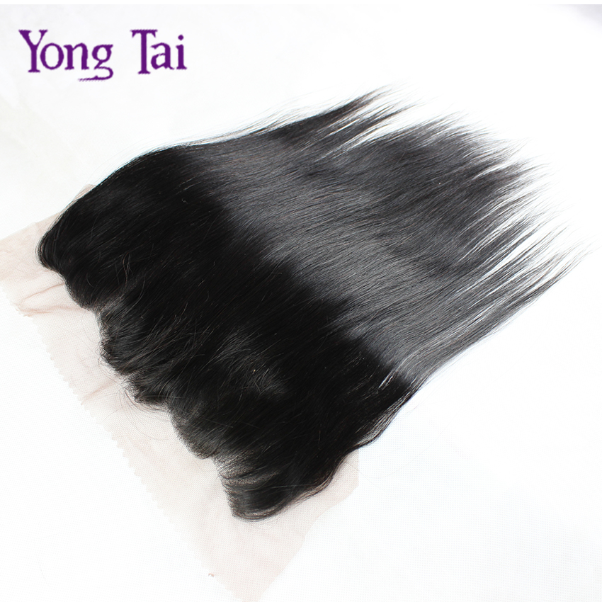 "Фотография 1pc Ear to Ear 13""x4"" Full Chinese Lace Frontal Closure Top Quality Straight Lace Frontal Chinese Virgin Hair,Single Piece"