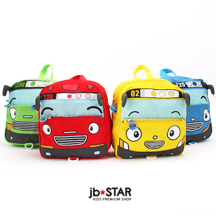 Tayo small bus car school bag baby anti-lost child backpack