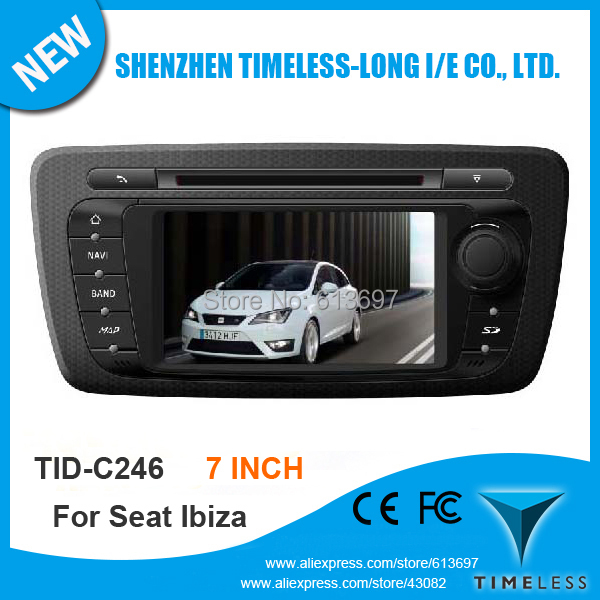 S100 1G CPU DDR 512MB Car GPS For Seat ibiza With Stereo A8 Chipset Dual Core 3 Zone POP 3G Wifi BT 20 Dics Playing Free Map(China (Mainland))