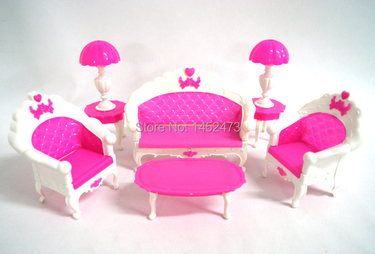 Baby furniture accessories toys high-grade classical sitting room tea table and sofa(China (Mainland))