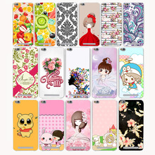 3770G Fresh Flower Painted Pattern Hard Transparent Case Redmi 3 3s Pro Note 2 2A & Meizu M3 M2 note Mini case - TTcase Store store