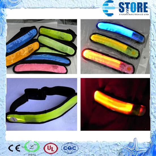 LED Arm bands Lighting Armbands Fashion Leg Safety Bands for Cycling/Skating/Party/Shooting(China (Mainland))