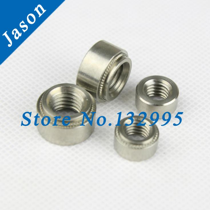CLS-M5-2*100pcs  PEM Self-clinching nuts  Pressure riveting nut Stainless Steel<br><br>Aliexpress