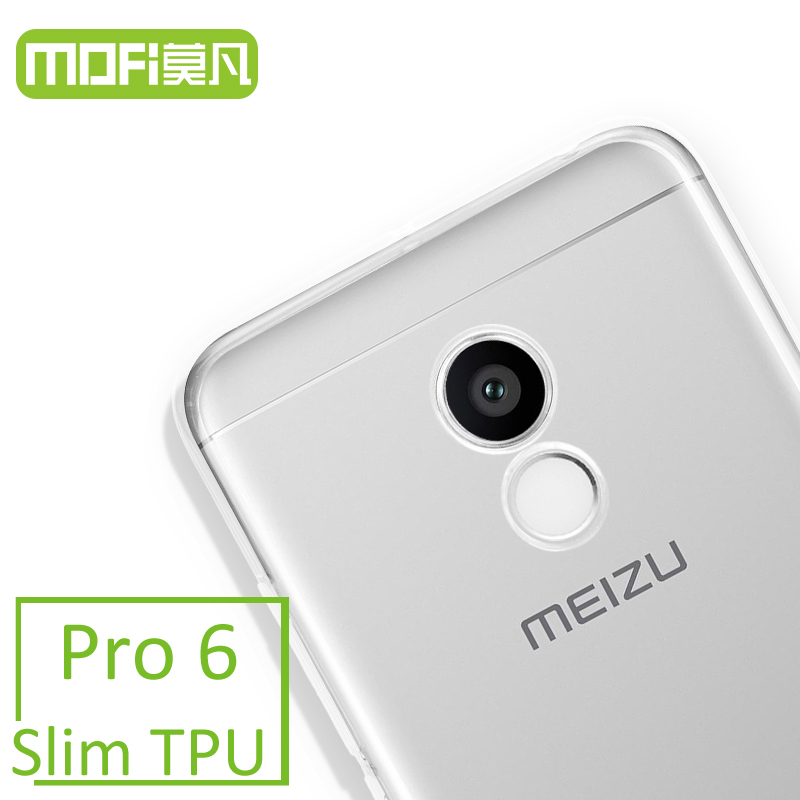 mofi original meizu pro 6 case clear tpu soft transparent 5.2 inch pro6 mx6 pro cover back 32g 64G PRO 5 mini silicone housing