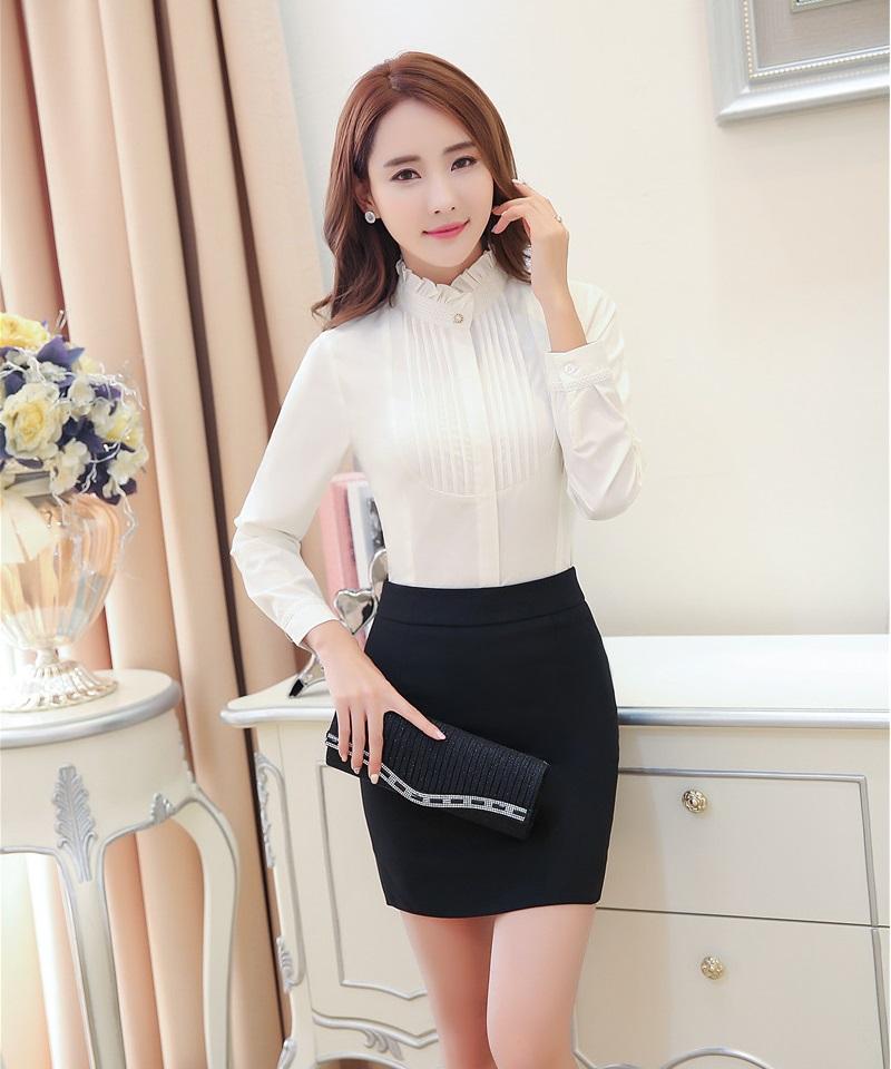 Womens Office Uniform Blouses Promotion-Shop for Promotional ...