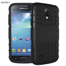 For Samsung Galaxy S4 Case Heavy Duty Armor Shockproof Hybrid Hard Rugged Rubber Phone Case Cover For Samsung S4 i9500 i337 <((China (Mainland))