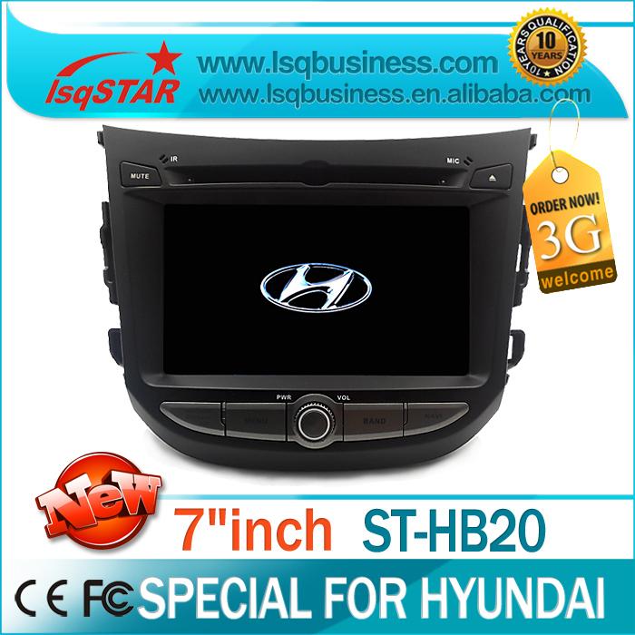 LSQSTAR Manufacturer car audio for Hyundai HB20 with GPS/BT/FM/AM/RDS/DVD/ATV/6CD virtual /PIP/SD/IPOD/SWC/Dual Zone(China (Mainland))