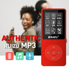 2015 New Hot Ultrathin 8GB MP3 Player With 1.8 Inches Screen 200 hours Long Standby time Original RUIZU X02 cassette to mp3