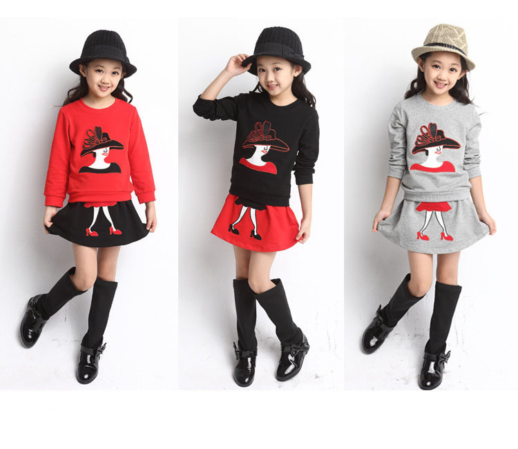New Summer Style Clothing Set 2015 Girls Kids Clothes Baby