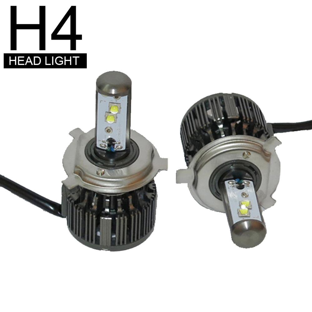 1set / 2pcs new design H4 40W 3600LM 6000K  High quality car lights car light Automotive LED headlamps headlamps lights<br><br>Aliexpress