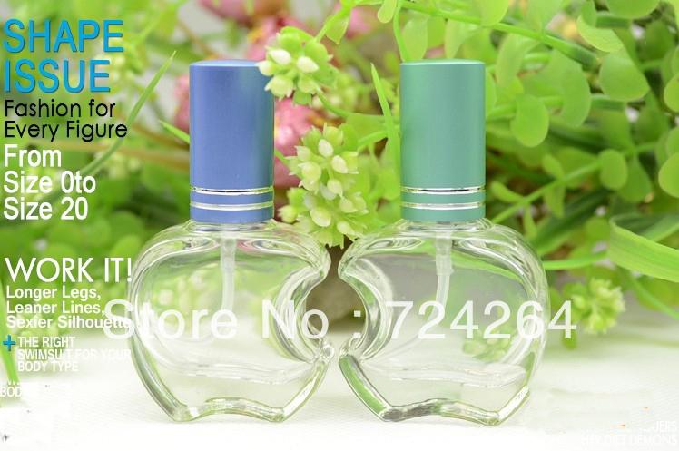 12ML spray perfume bottle for eau de toilette multicolor Vaporizer container empty cosmetics refillable atomize10pcs/lot1932412A(China (Mainland))