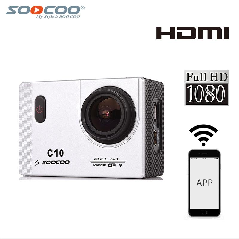 Фотография Original SOOCOO C10  WIFI 1080P Novatek 96655 170 Wide Angle waterproof camera action cam action camera