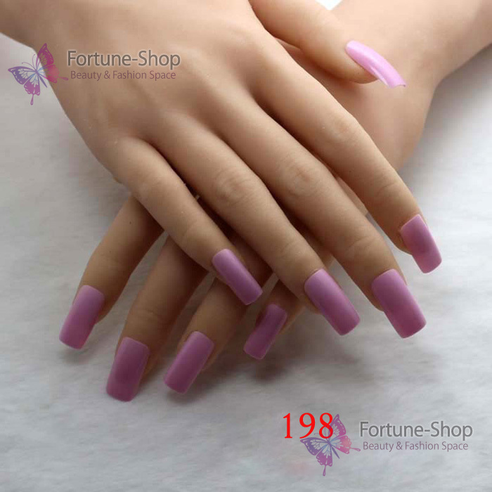 24pcs/set Fake Nails Color