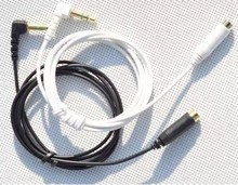 Original 3.5 mm Jack Male to Female Stereo Audio Extension Cable Adapter Extend Cord for EX71 black,white color available