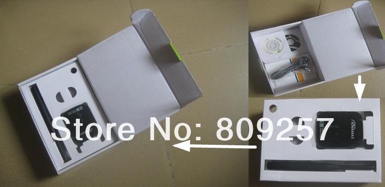 Free shipping free internet High power Long Range USB Wireless Adapter 300Mbps 802.11N Wifi Decoder(China (Mainland))