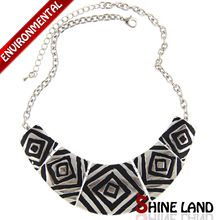 Free Shipping 2015 New Women Fashion Vintage Gold Silver Plated Flower Chunky Choker Statement Necklaces Jewelry