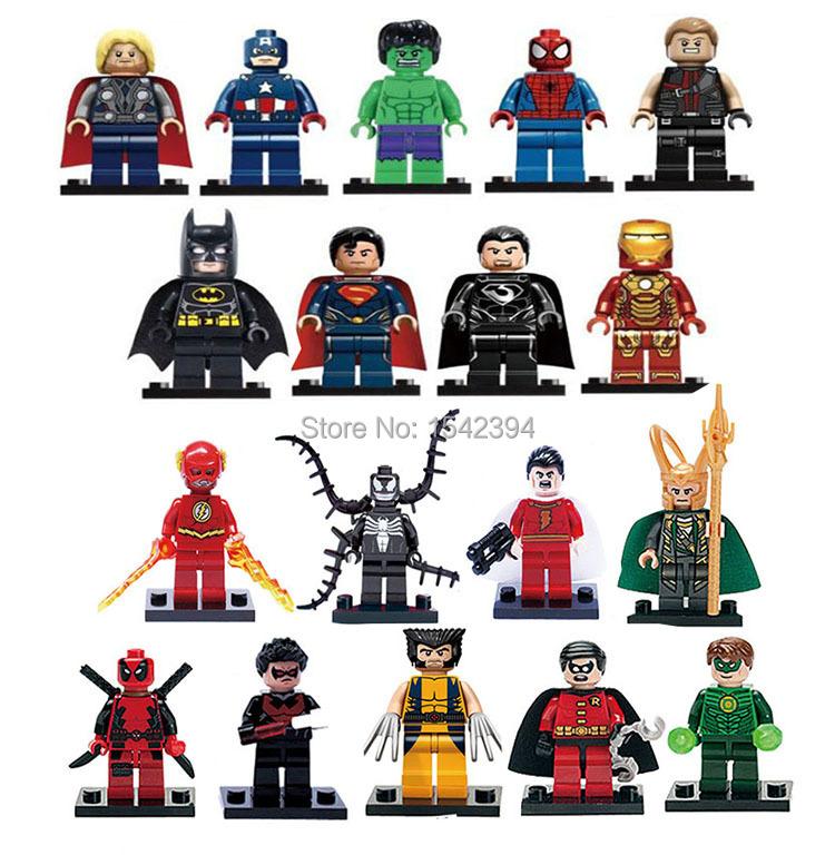 Детское лего XINH Minifigures 18pcs XINH 001-018 детское лего sluban diy lego minifigures 0225