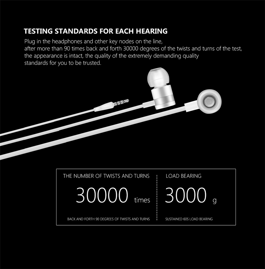 Beevo BV-EM130  In-Ear Earphone Special Edition Headset Clear Bass Earphones With Microphone 4 Colors fone de ouvido audifonos