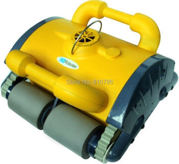 Free Shipping 2013 Best Top Selling Model Swimming Pool auto vacuum cleaner( Remote Controller ,Wall Climbing Function)