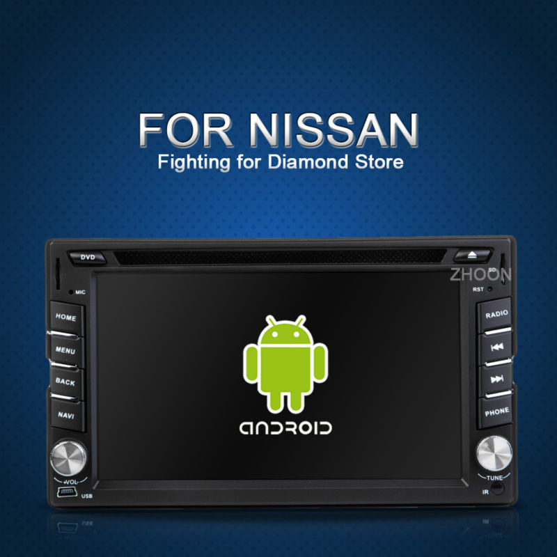 Автомобильный DVD плеер Zhoon Android 4.2 2 dvd GPS xtrail nissan x/trail