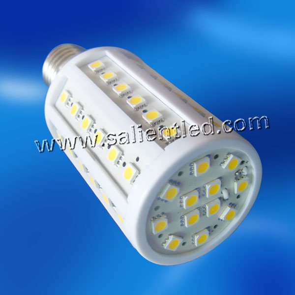 high brightness wholesale price 110-240V white warm white smd 5050 e27 led corn light commercial lighting free shipping(China (Mainland))