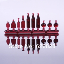 20set scale 1/20 model red color Wine bottles Landscape Scenery Model home for layout design(China (Mainland))