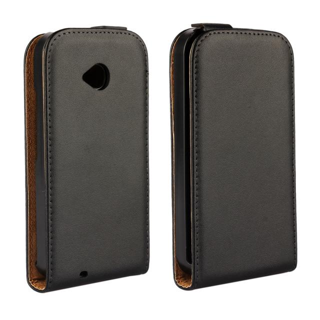 50 pcs/lot Vertical Flip Magnetic Cover Genuine Real Leather Mobile Phone Case For Motorola Moto E2 E 2nd Gen E+1 XT1505 XT1527