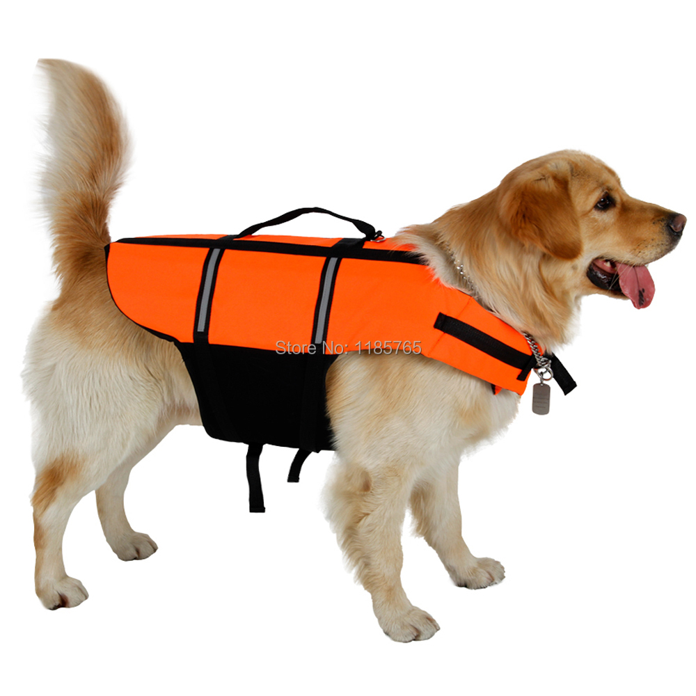 New Arrival Pet Life Jacket Puppy Dog and Cat Vest For Swimming Freeshipping Pet Supplies S-3XL(China (Mainland))