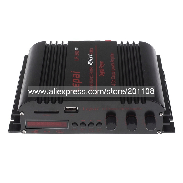 F799A LEPAI LP-269FS 4*45W USB SD MMC MP3 FM Player Amplifier(China (Mainland))