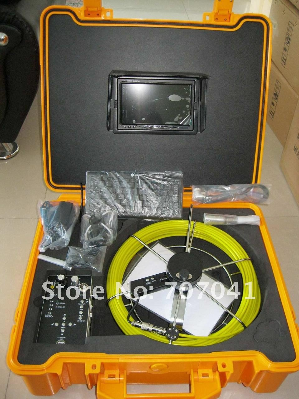 Free shipping waterproof inspection camera ,underwater camera inspection TEC-Z710DKN(China (Mainland))