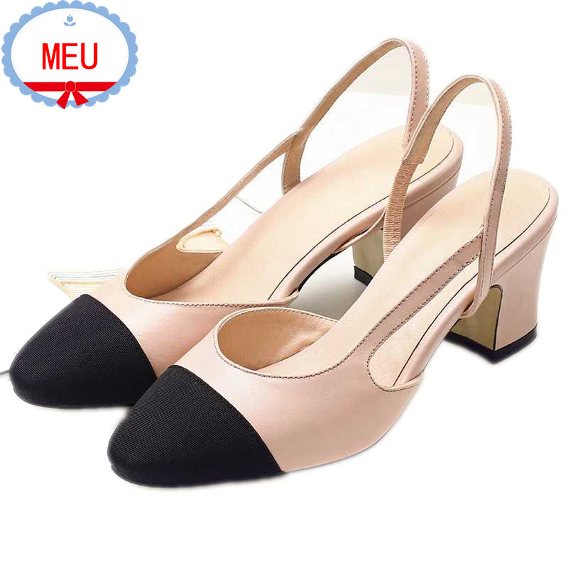 Free shipping 2016 new Sexy Women Pumps  Classics Lady Sandals High Heels shoes Female Summer Slingbacks Pumps  PS1442 <br><br>Aliexpress