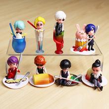 Комплект из 8 минифигурок персонажей аниме Токийский гуль