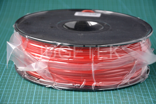 HIPS Filament 1 75 in Red color 1kg