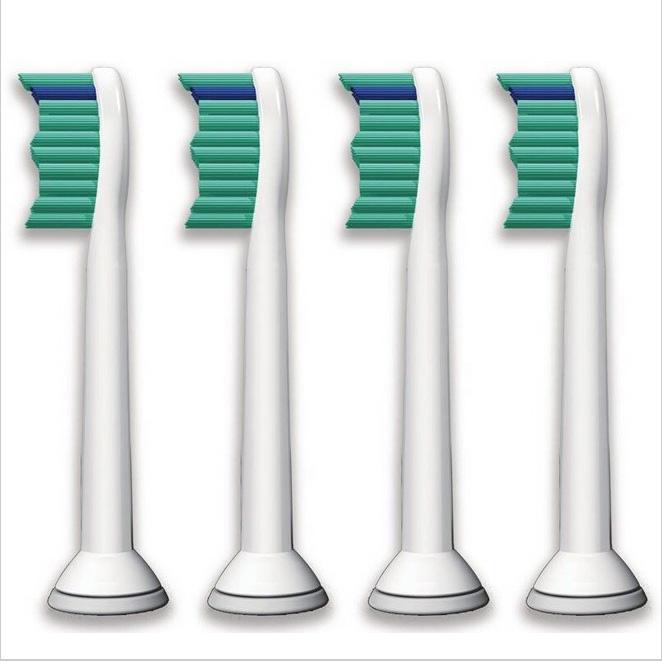 4pcs/lot Replacement Toothbrush Heads for Philips Sonicare ProResults HX6013/66 HX6530 HX9340 HX6930 HX6950 HX6710 HX9140