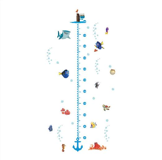 Finding Nemo Dory height growth chart measurement vinyl wall decals mural stickers for kids rooms DIY(China (Mainland))