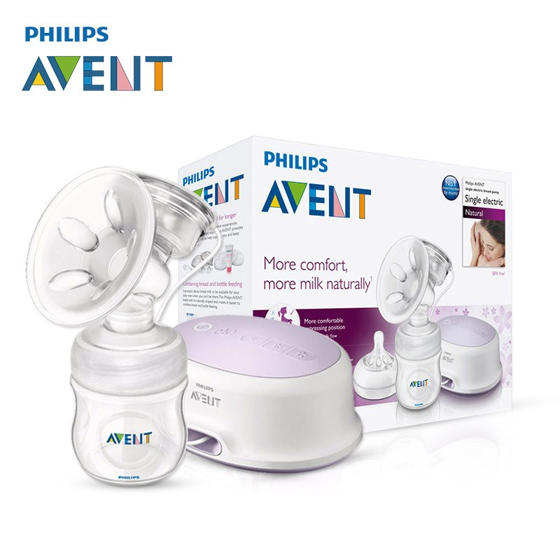 avent breast pump electric how to use
