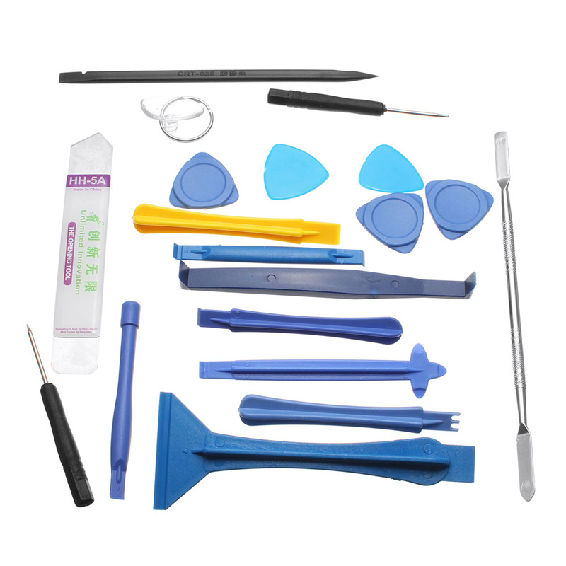 19 pcs 1 Sets Opening Repair Tools Laptop Phone & Screen Disassemble Tools Set Kit For iPhone For iPad Cell Phone Tablet PC(China (Mainland))
