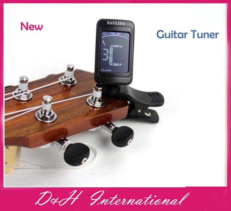 New arrive !! Brand new LCD Digital Bass Violin Ukulele Guitar Tuner free drop shipping(Hong Kong)