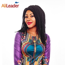 Buy AliLeader 12 Inch Short Hair Senegalese Twist Kanekalon Synthetic Crochet Braids Extensions Kids Women 5Packs Full Head for $16.81 in AliExpress store