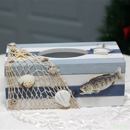 The Mediterranean-style paper tissue box facial tissue box pumping box creative home accessories do the old limit buy shipping !(China (Mainland))
