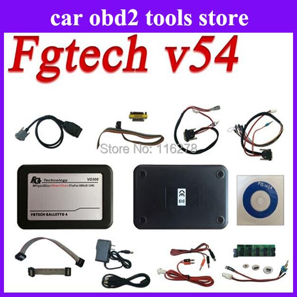 Breaking news!!! vd300 V54 fg tech fgtech galletto 2 Master v54 FG Tech BDM-TriCore-OBD with BDM function+USB KEY freeshipping(China (Mainland))