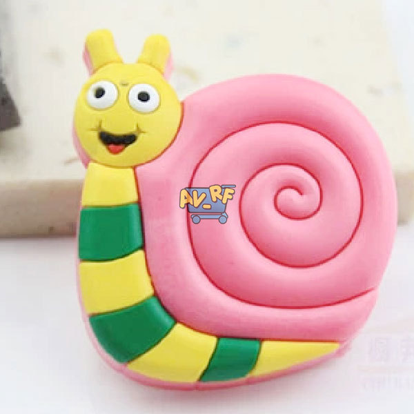 Гаджет  High QualityKids Children Rubber Snail Door Room Cabinet Handles Drawer Pull Cupboard Knob None Мебель