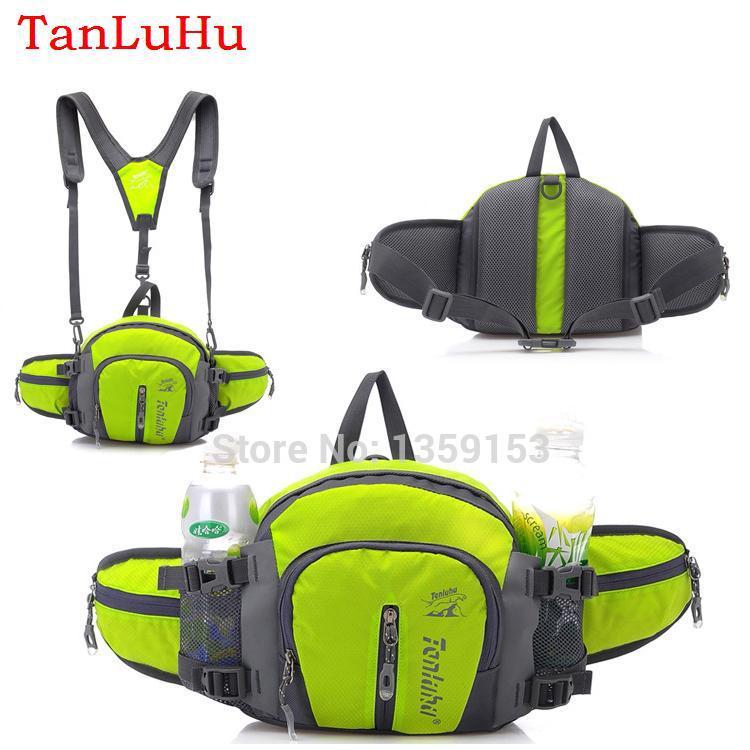 2015 Multifunction Unisex Waterproof mochilas outdoor sport backpack mountaineering bag Trekking waist pouch water bottle belt(China (Mainland))