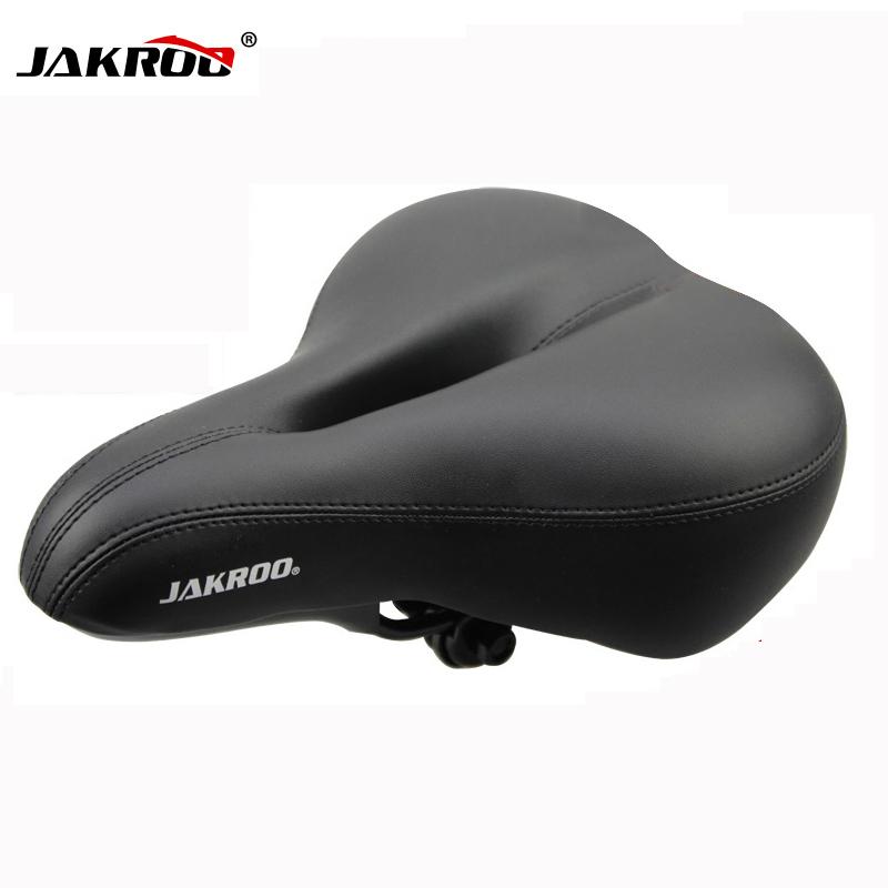 2016 New Free Shipping Bicycle Seat Cycling Saddle Comfortable Seat Mountain Bike Sponge Big Cushion Ride Bicycle Accessories(China (Mainland))