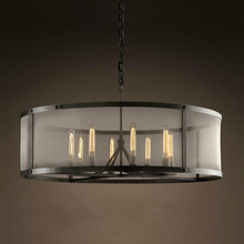 Loft vintage pendant light lighting iron lamps(China (Mainland))