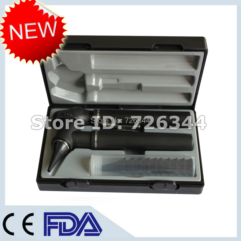CE FDA Medical Diagnostic Eye Ear Care Otoscope and Ophthalmoscope Package Kit for ENT Diagnosis(China (Mainland))