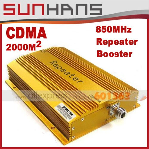 Direct Marketing CDMA980 850MHZ 2000square meter Mobile Phone Signal Amplifier RF signal Repeater signal booster 1pcs/lots(China (Mainland))