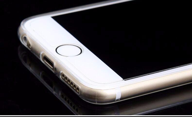 For apple iPhone 6 6s / plus,clear transparent cases 6 S plus selicon,coque cover iphone6s iphone6splus phone transpanrent
